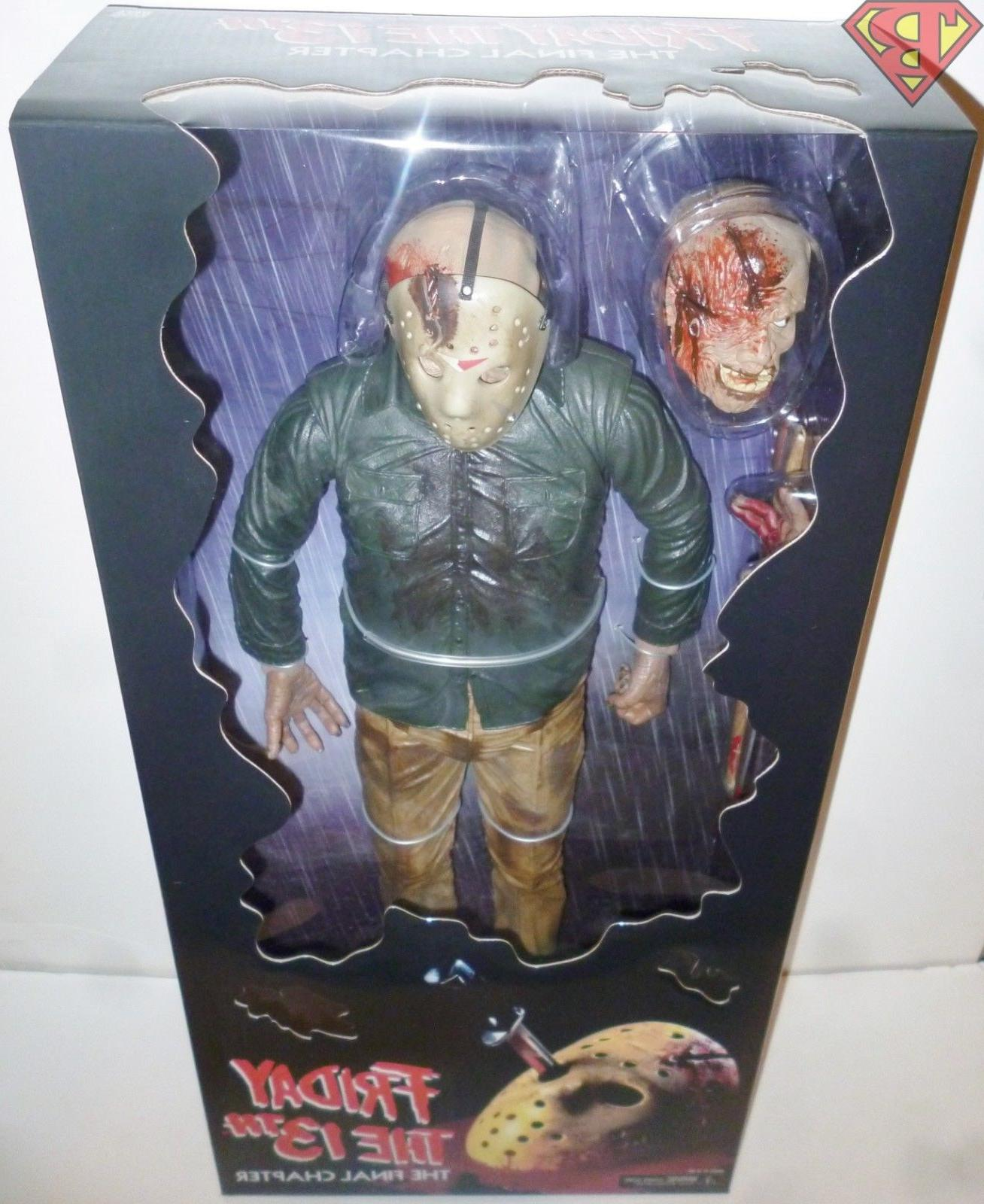 """JASON Friday the 13th Part 18"""" inch Figure 2018"""