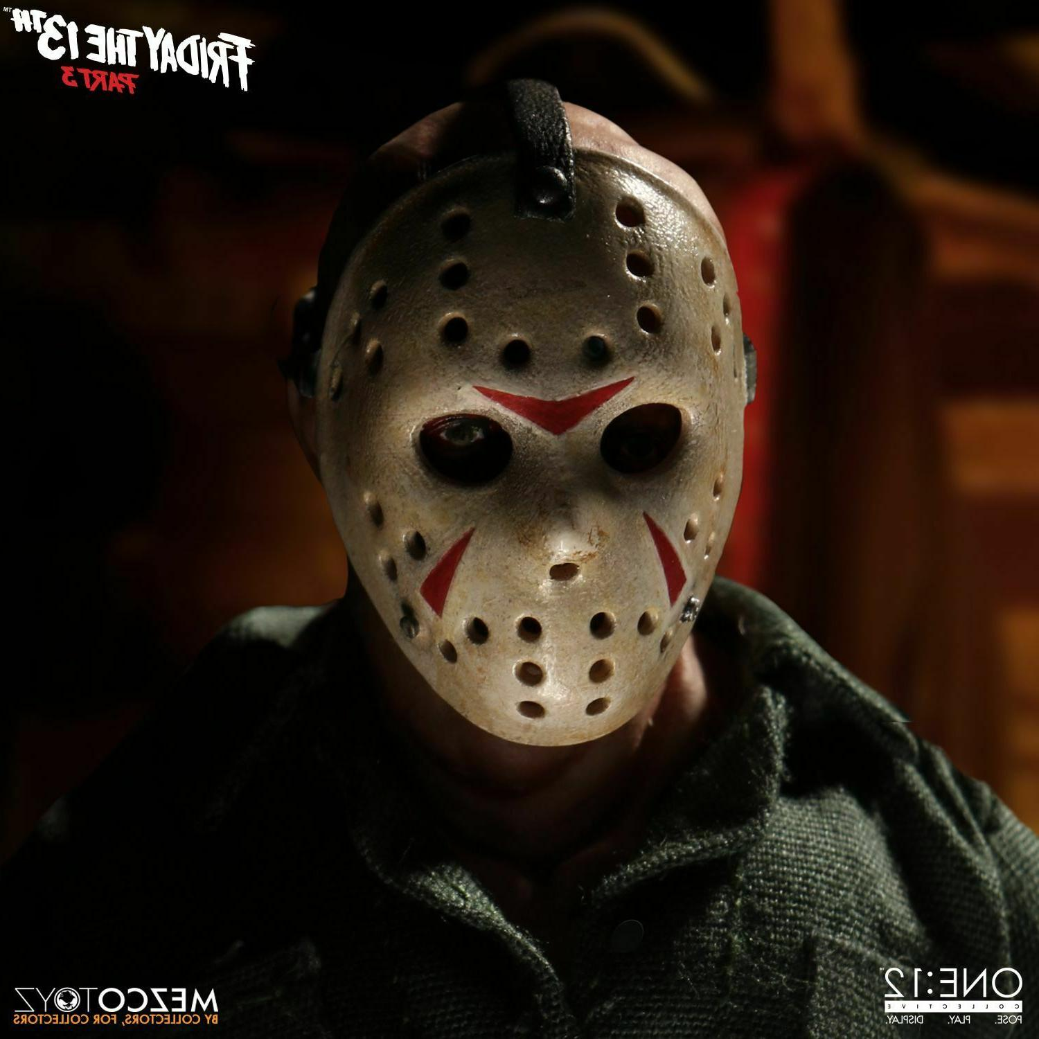 Jason Voorhees Mezco One:12 Collective Friday 13th Part 3 Action Figure
