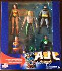 JLA: 5 action figure Gift Set DC Direct + 48 pg comic, Brand