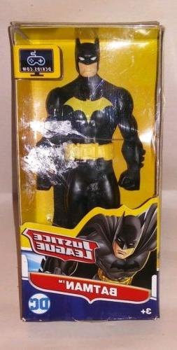 "DC Comics Justice League Action Batman Figure, 6"", Black Cla"