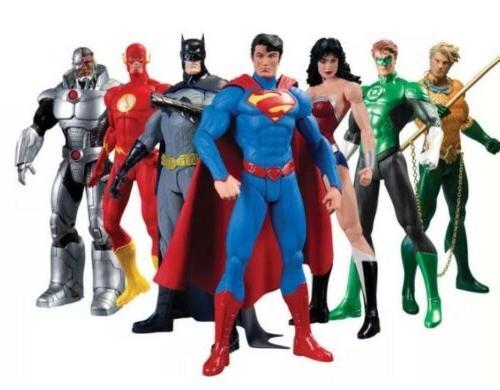 justice league action figure box set 7
