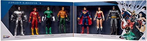 """NJ Croce Justice 8"""" Figure Boxed Set"""