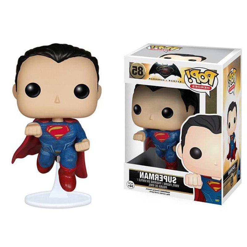 Funko Pop League <font><b>DC</b></font> Toys Heroes 10CM <font><b>Figures</b></font> <font><b>Collection</b></font> Kids Toys
