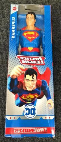 justice league superman true moves 12 inch