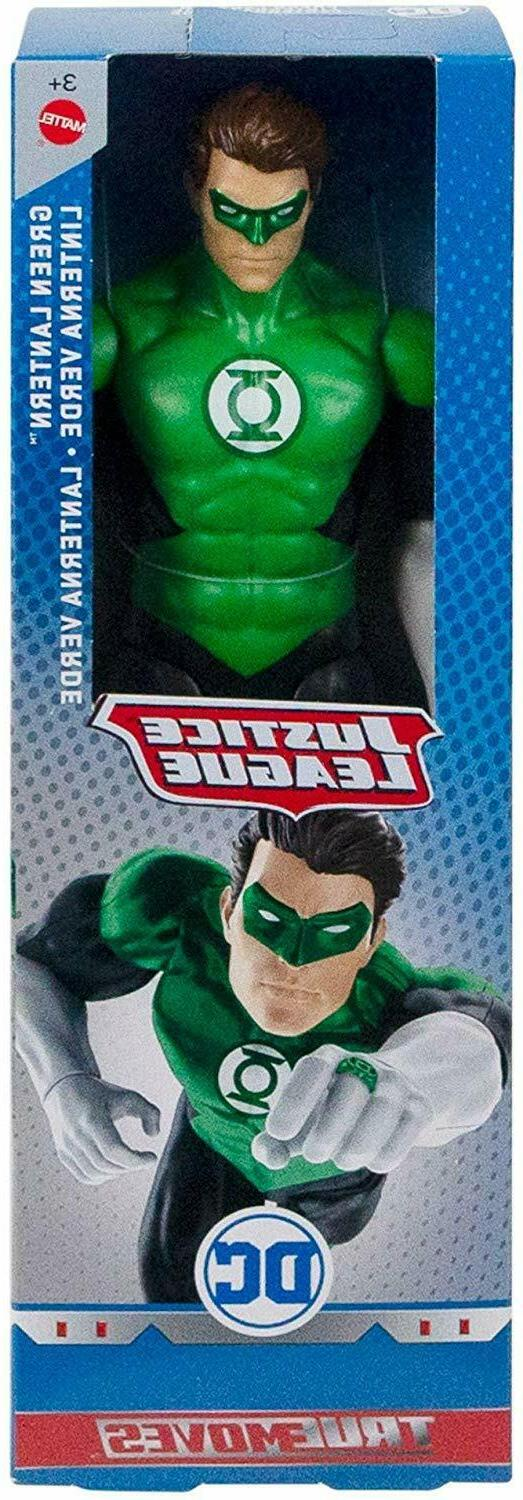 DC Comics Justice True Moves Inch Action Lantern -