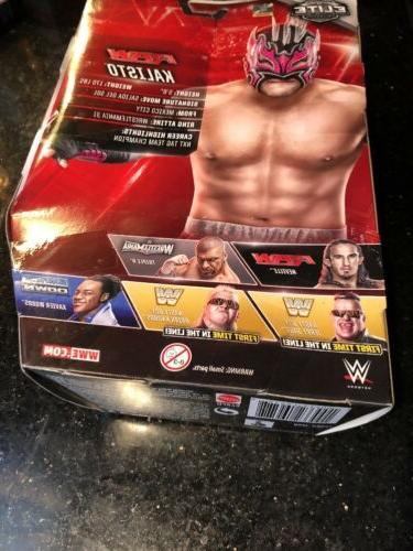 WWE Elite Kalisto Mattel Wrestling Action Figure Wear Free