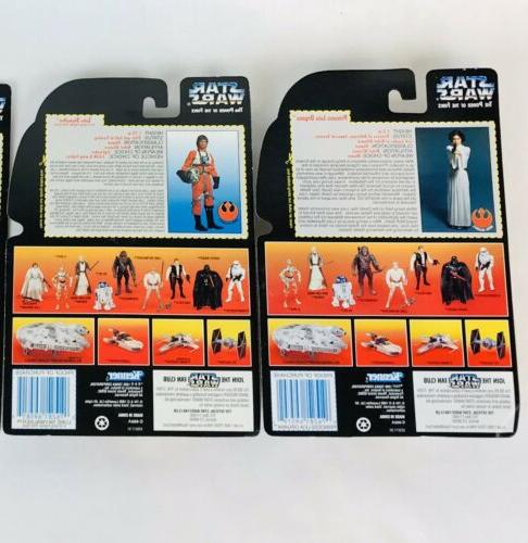 Kenner Star Wars Power the Lot- Red Card Action Figure Lot x13
