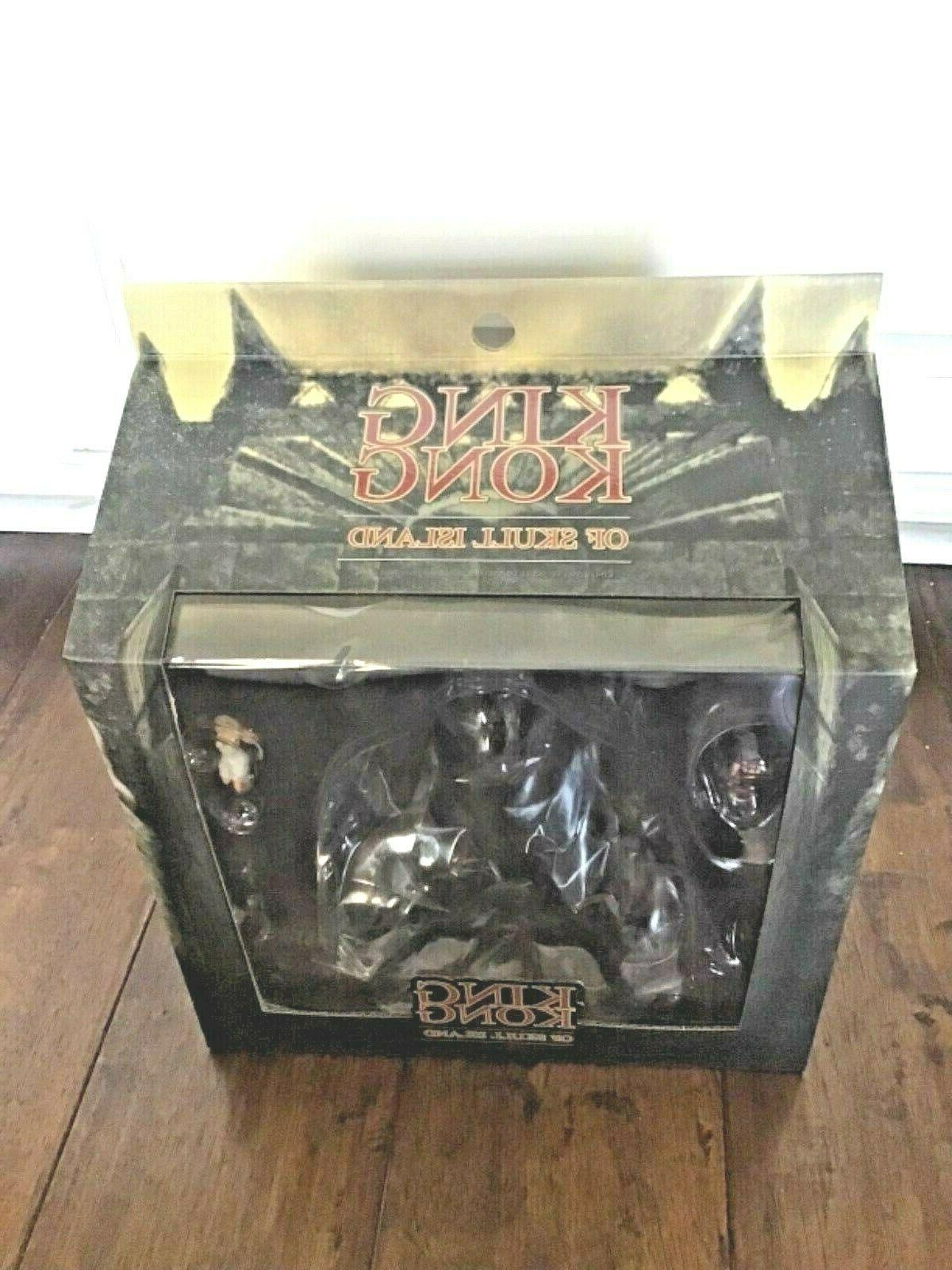 king kong movie figure boxed skull island