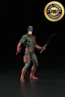 kotobukiya the defenders series daredevil black suit