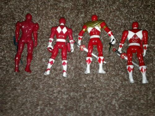 Power Morphin 5-Inch Armored Ranger Action