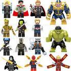 LEGO Action Figures Iron Man Thanos Hulk Avengers Infinity W