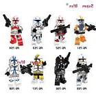 Lego star wars minifigures clone trooper army custom figures