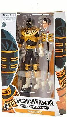 Power Rangers Lightning Collection Zeo Gold Ranger 6-Inch Pr