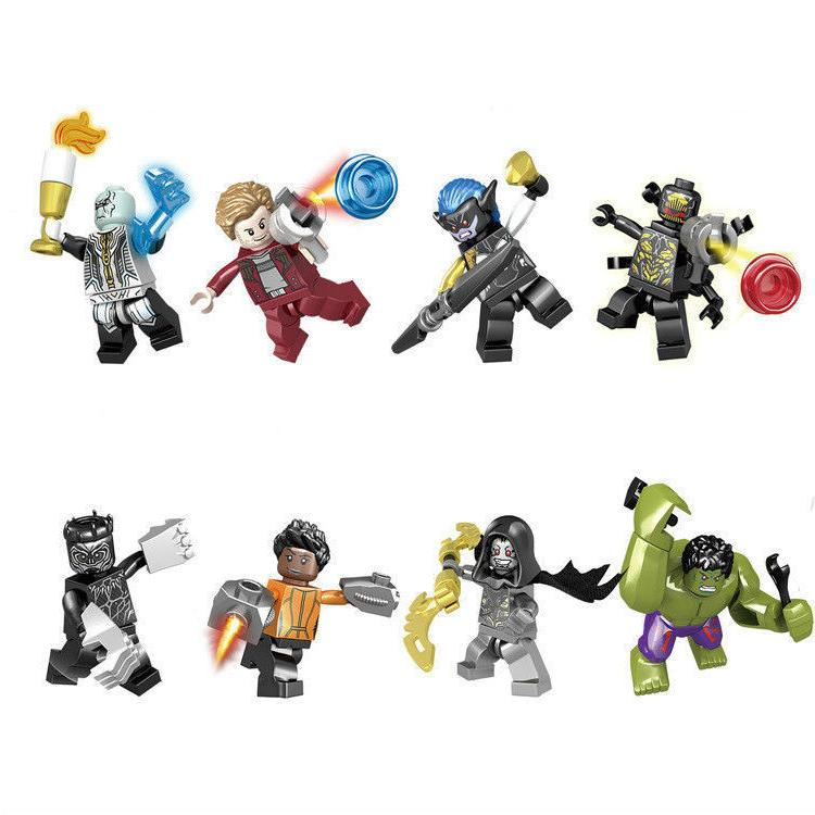 Lot/16pcs Avengers 3 Infinity Action
