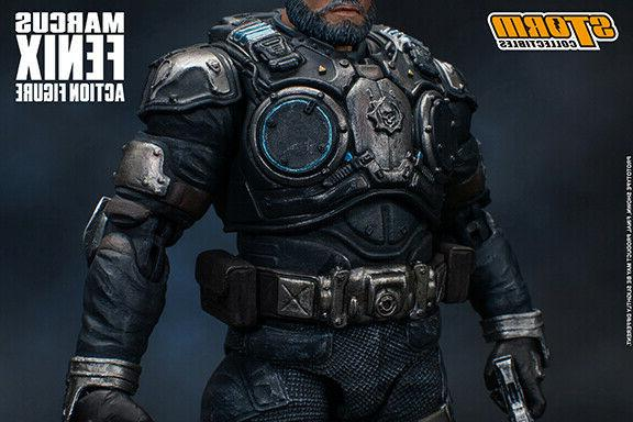 Storm Collectibles Marcus Fenix Gears War Action Figure NEW STOCK
