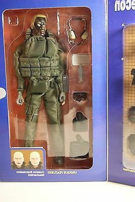 Elite Force Force Recon 12 inch figure Set