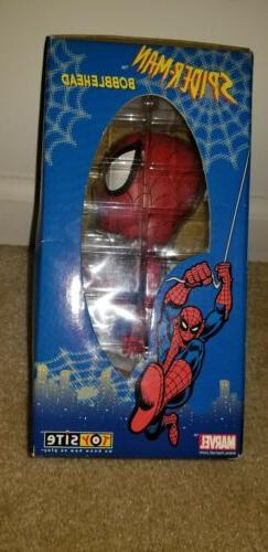 Marvel Site Bobblehead Spider-Man Action Figure NEW