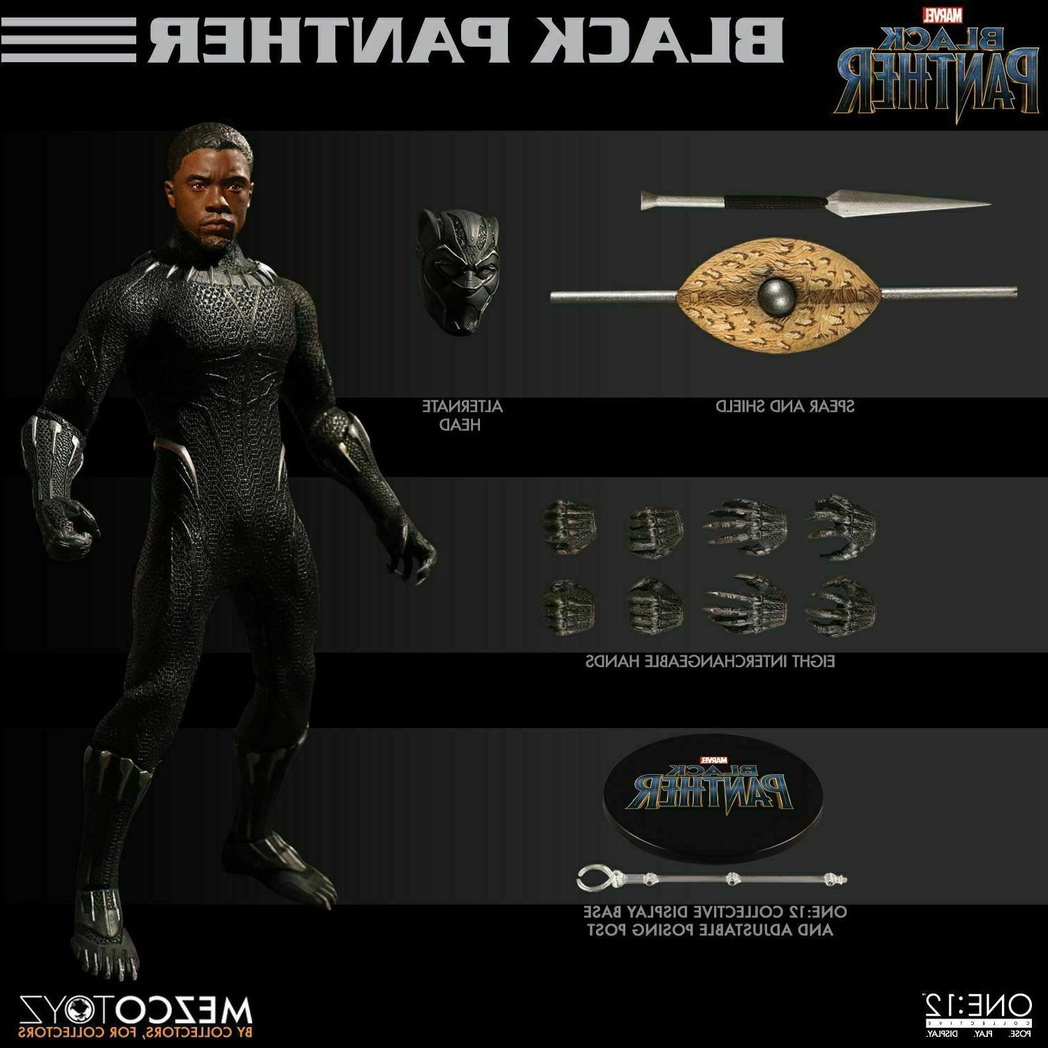 Marvel Black Panther The Movie One:12 Collective Figure Mezco Toyz