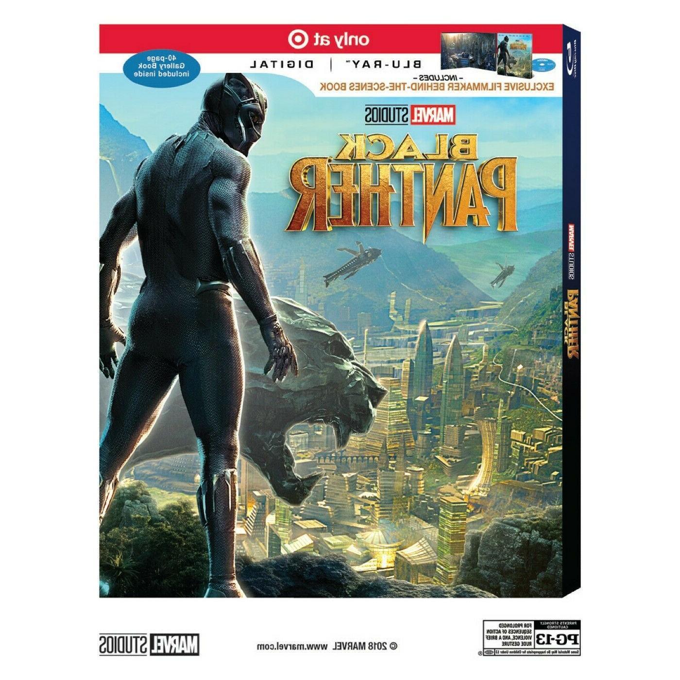 Marvel Black Series 12-inch Figure DVD Chadwick Boseman