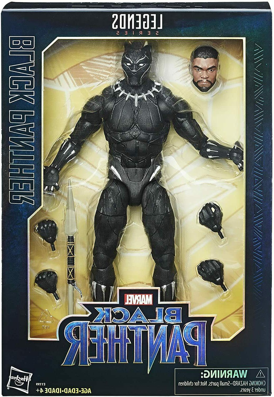 Marvel Black Panther Series Figure Blu-Ray DVD