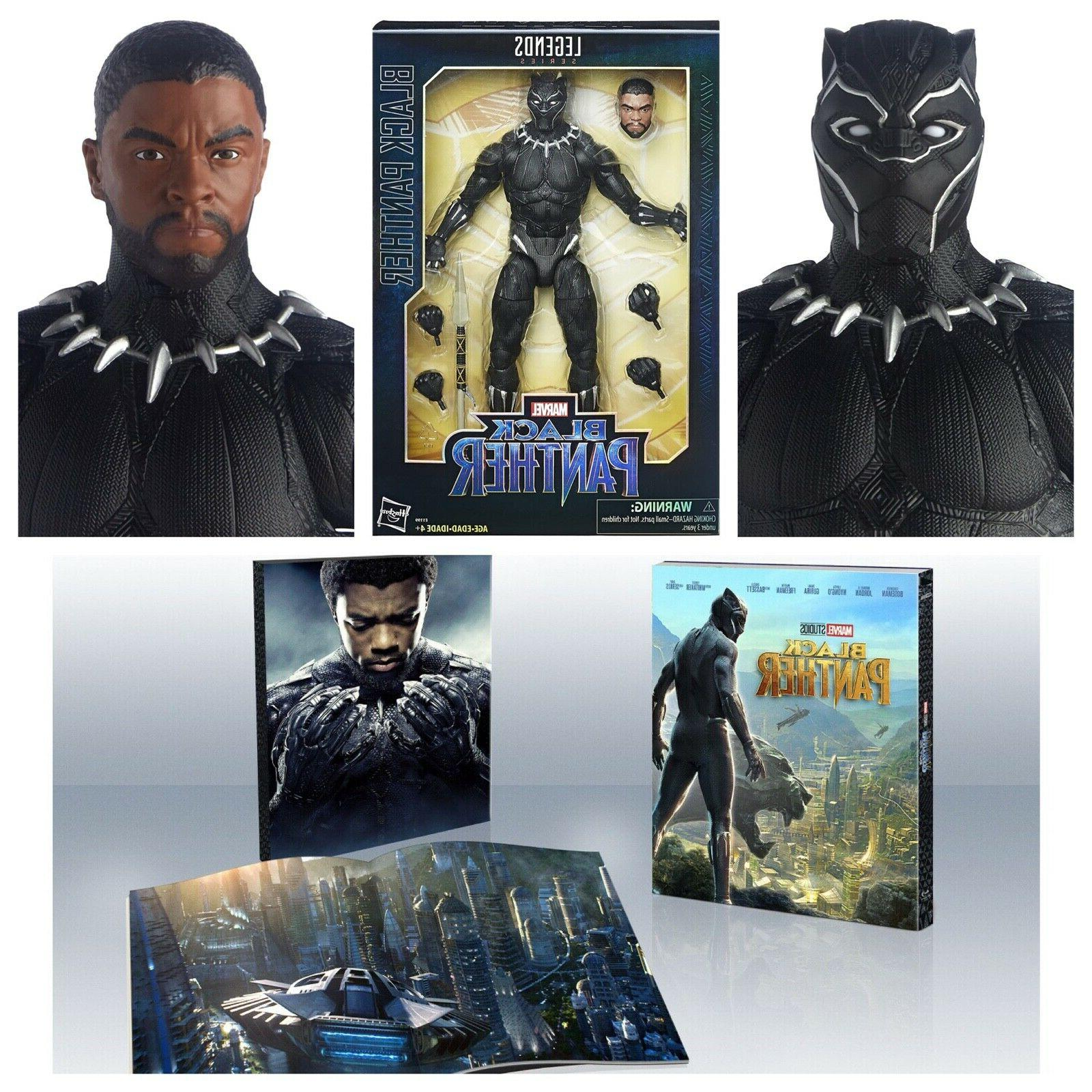 marvel black panther legends series 12 inch