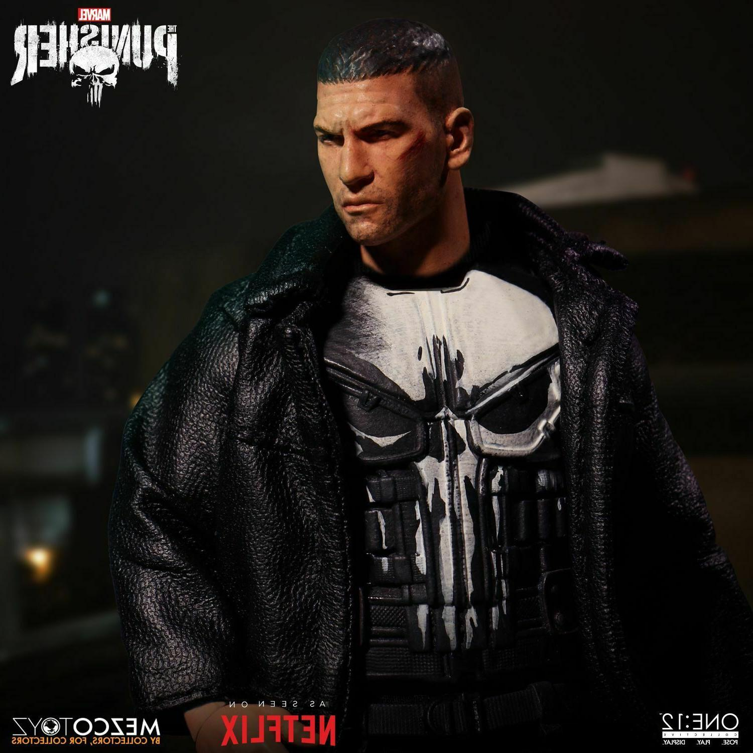 Marvel Comics Mezco Toyz Punisher Action Figure 2019