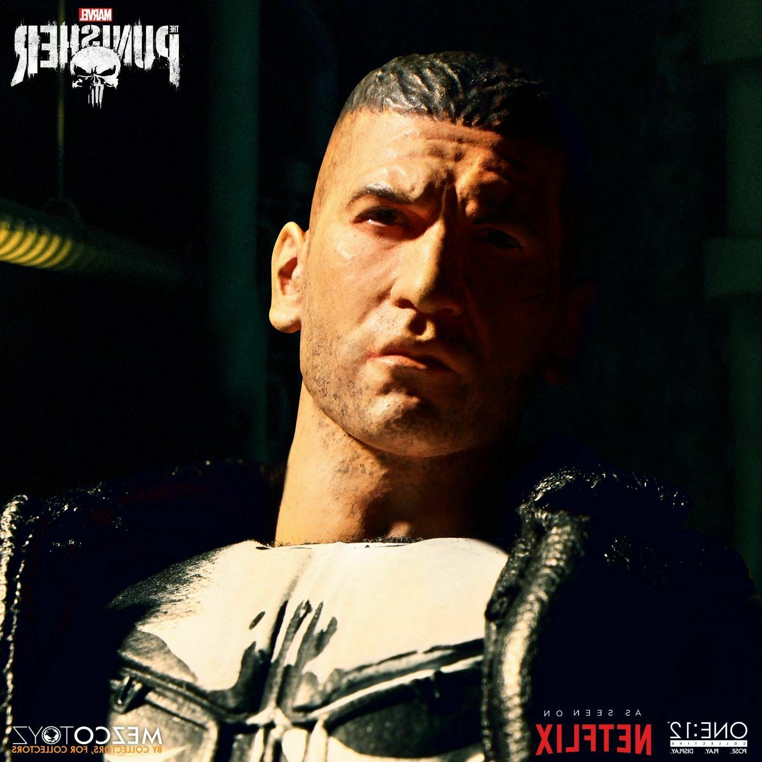 Marvel Comics Punisher One:12 Collective Action Figure Netflix