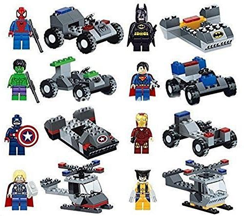marvel dc super heroes action