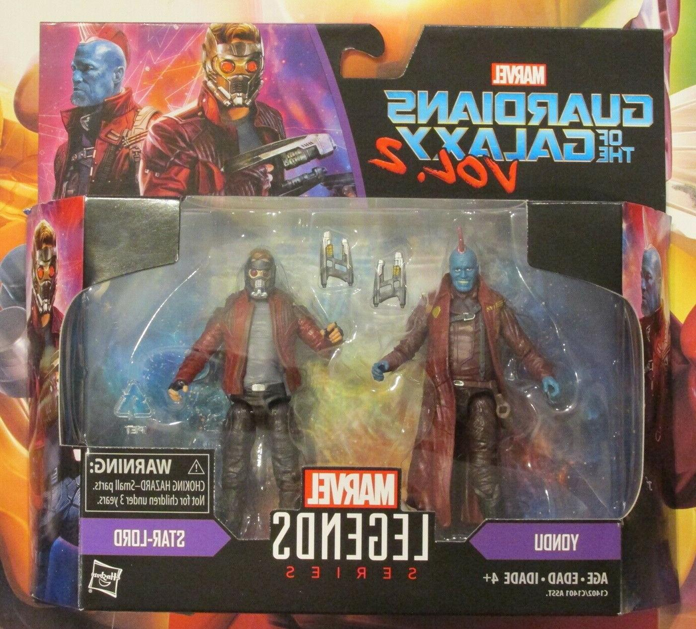 Marvel Legends 3 3/4-Inch Action Figures - Star Lord AND Yon
