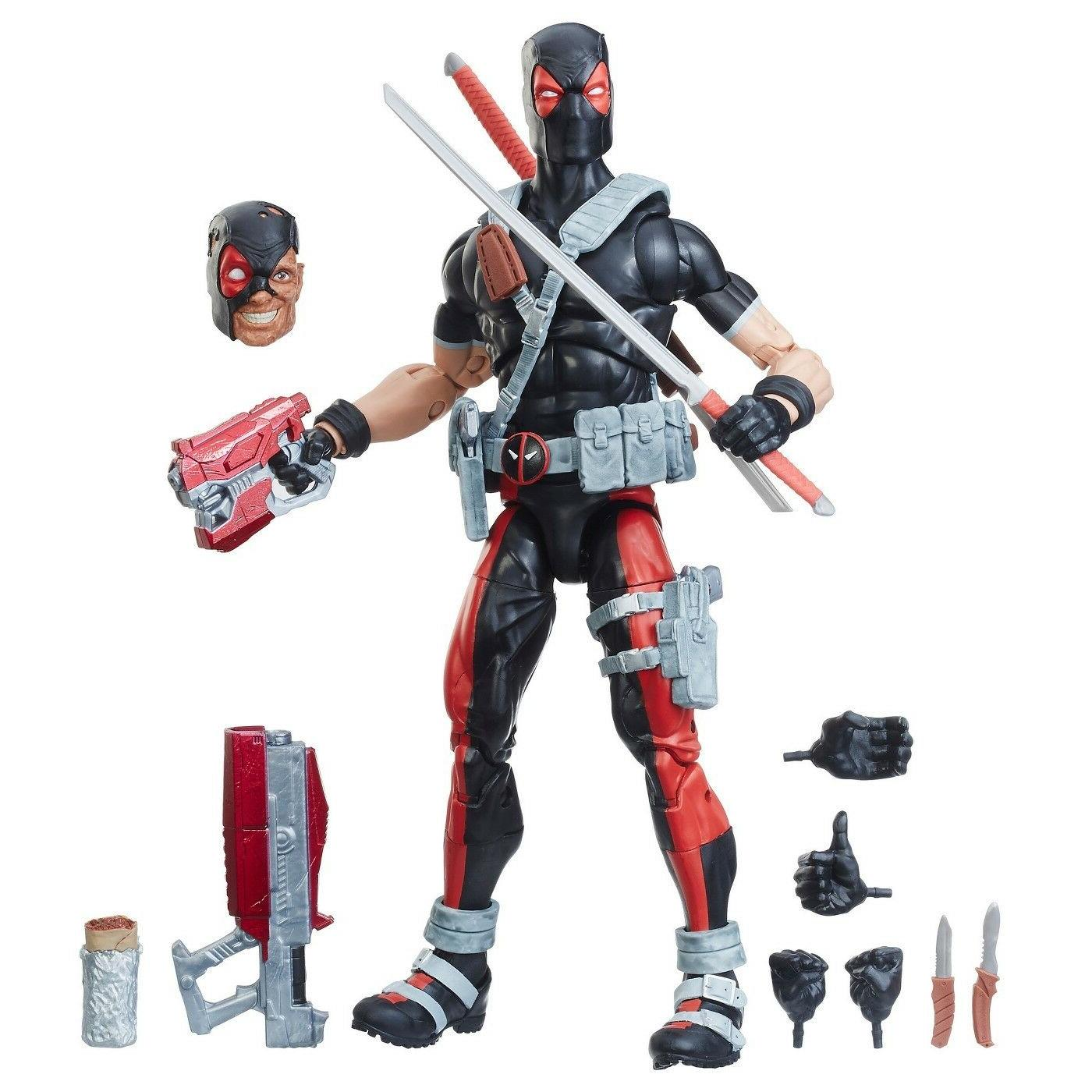 MARVEL SERIES DEADPOOL AGENT WEAPON 12 Action Figure Brand New