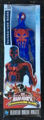 """Marvel Spider Man Titan Hero Series Spider Man 2099 12"""" Ac"""