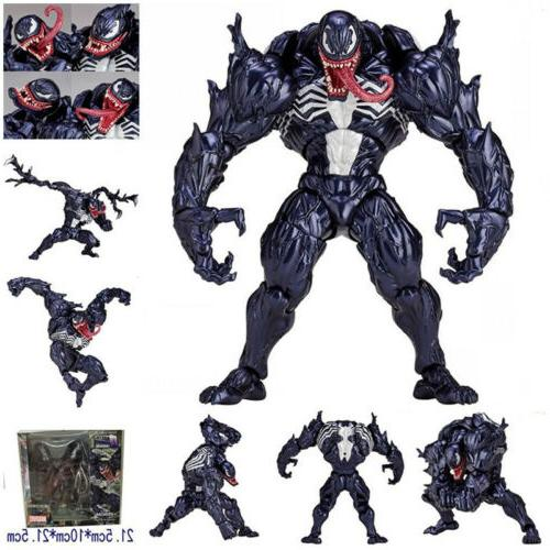 Action Figure Model Marvel Spider Man Venom No.003 Revoltech Series PVC Toy Gift