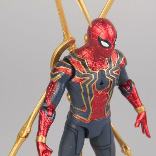 Marvel Spiderman Avengers War Spider-Man Figure