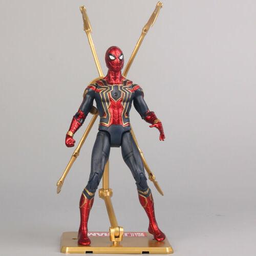 marvel spiderman avengers infinity war iron spider