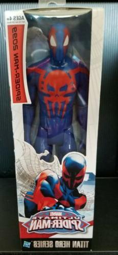 marvel titan hero series spider man 2099
