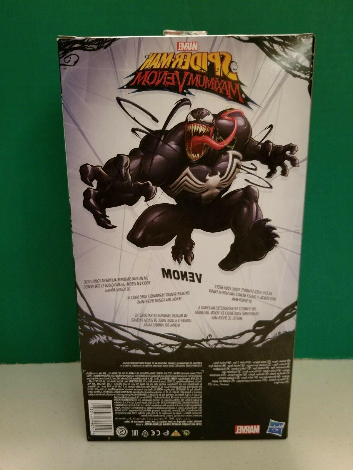Marvel Titan Spider-Man Maximum Inch Action Figure In Hand