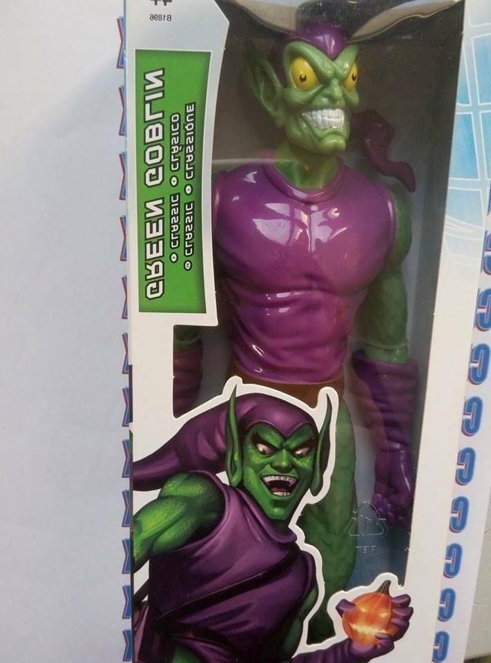 Marvel Hero Series Green Figure
