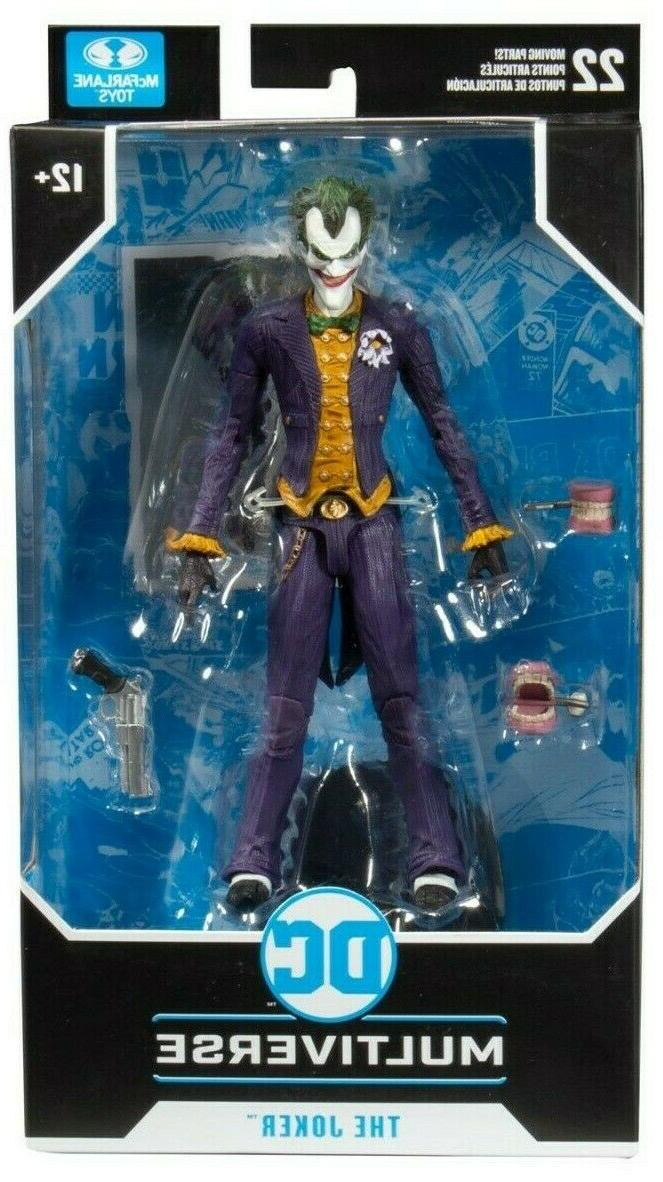 mcfarlane batman arkham asylum dc multiverse joker