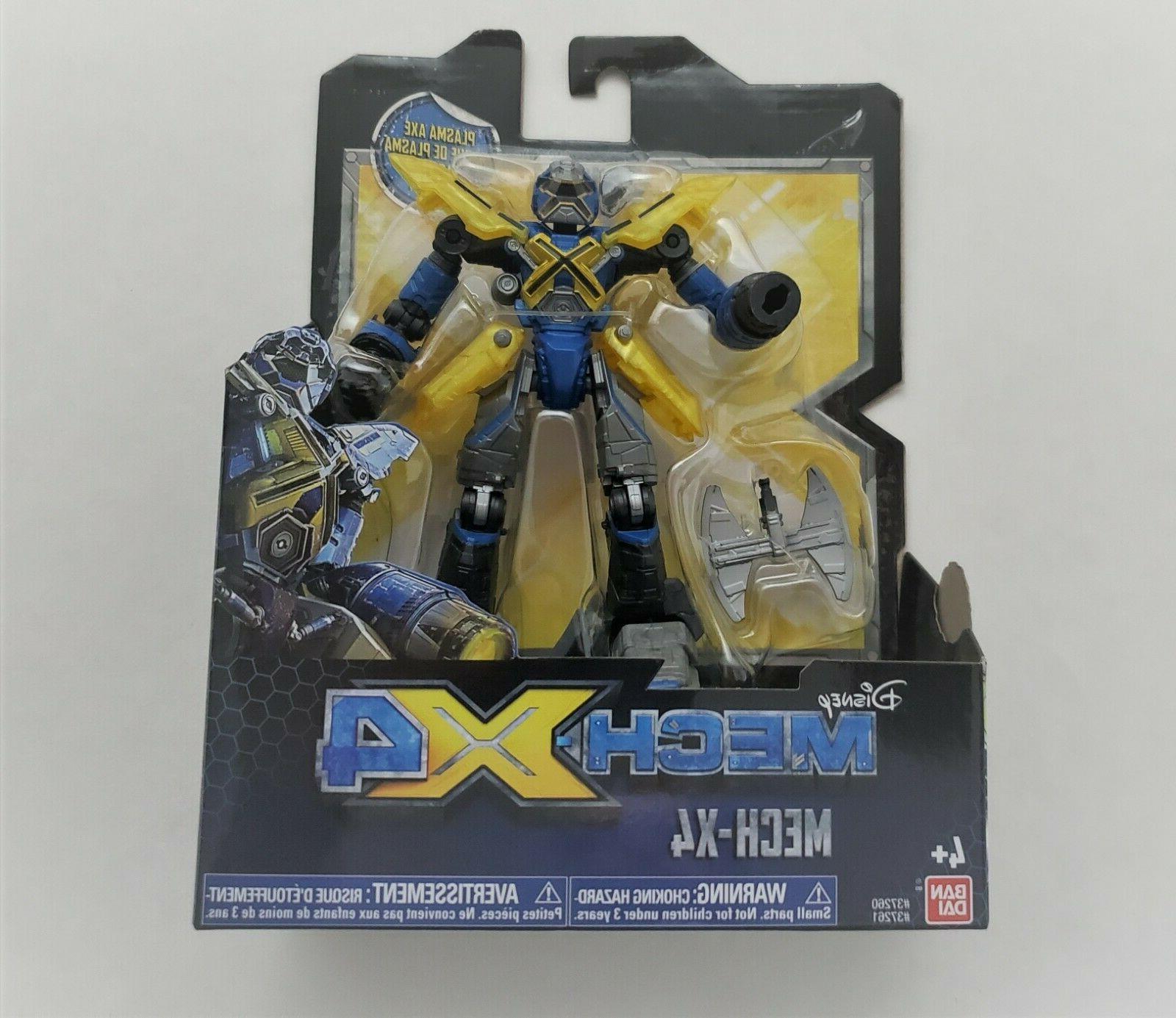 mech x4 5 robot with plasma axe