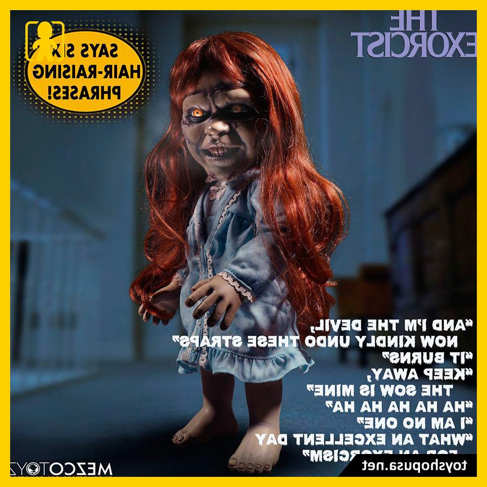 "Mega Scale Talking The Exorcist 15"" Sound Feature Action Toyz"