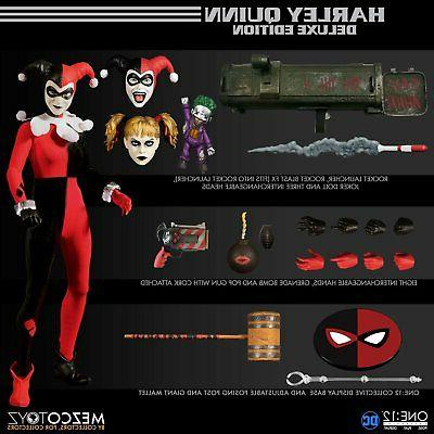 In STOCK Mezco One 12 DC Harley Quinn Deluxe Edition Action