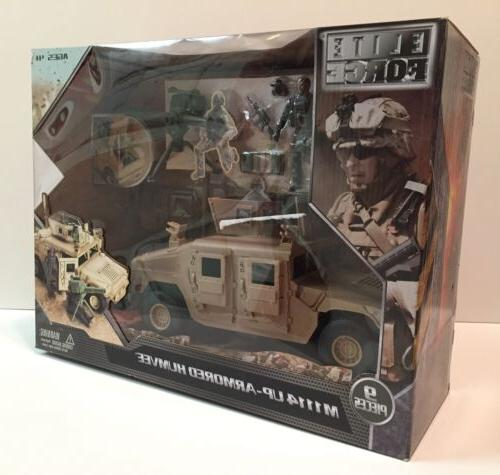 MIB BBI ELITE 1/18 - Humvee Joe NEW