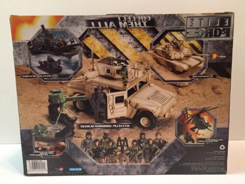 MIB ELITE FORCE 1/18 Humvee NEW VAMP Stinger