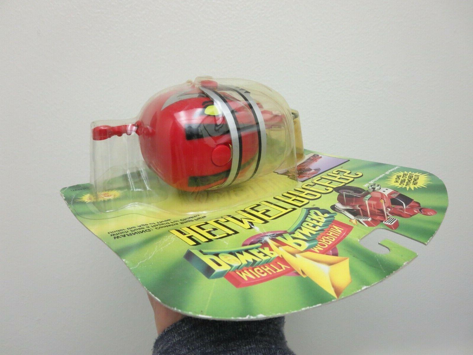 Mighty Morphin Rangers MMPR Helmet RED Ranger