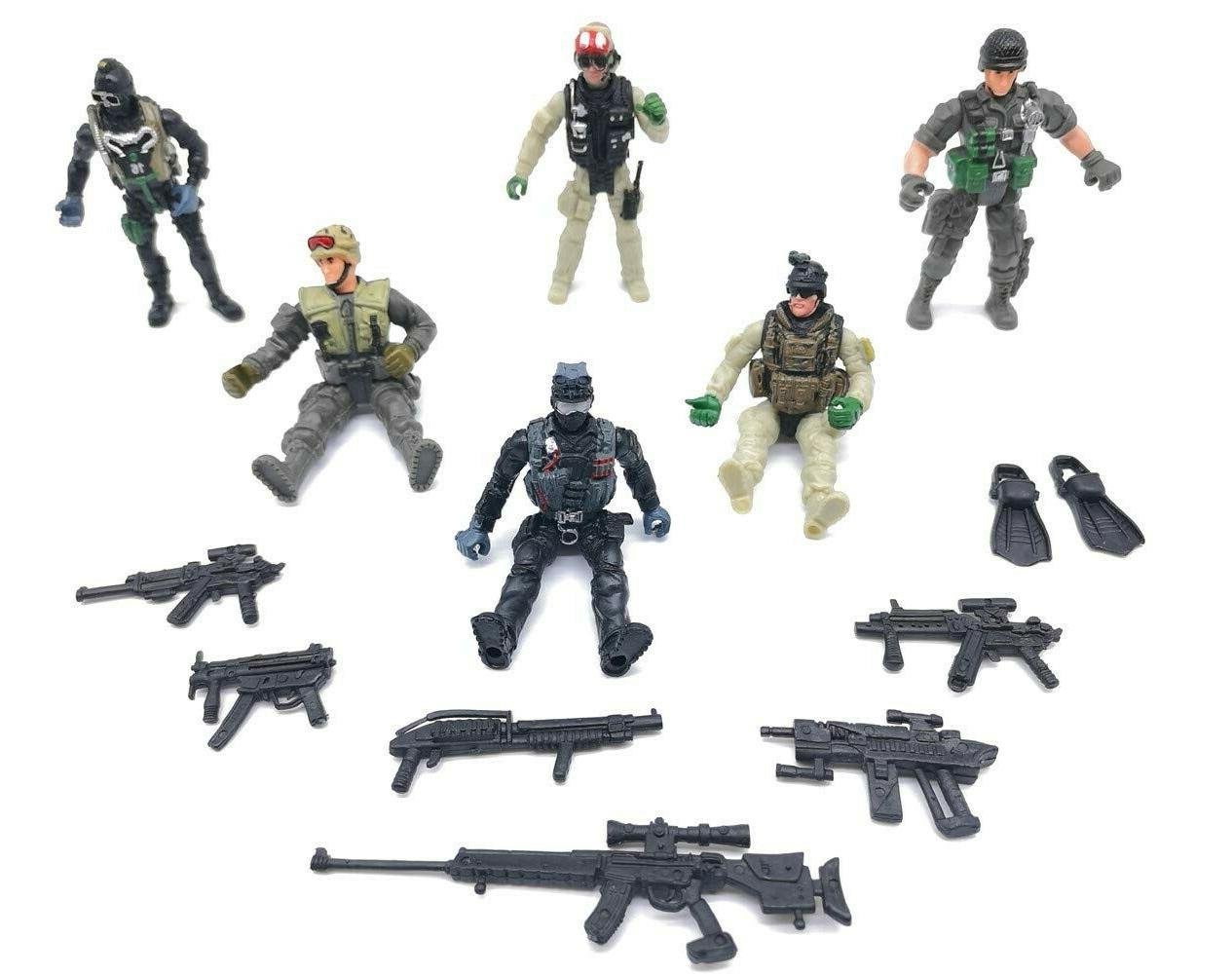 Military Special Force Marine Figure Elite Force Army
