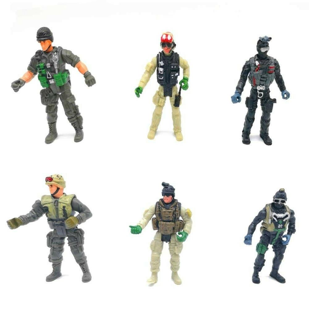 Military Special Force Marine Figure Elite 6