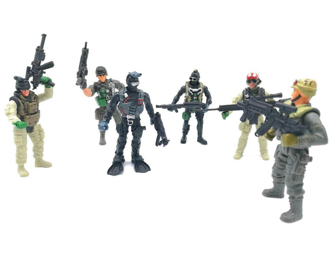 Military Special Marine Figure Elite Force