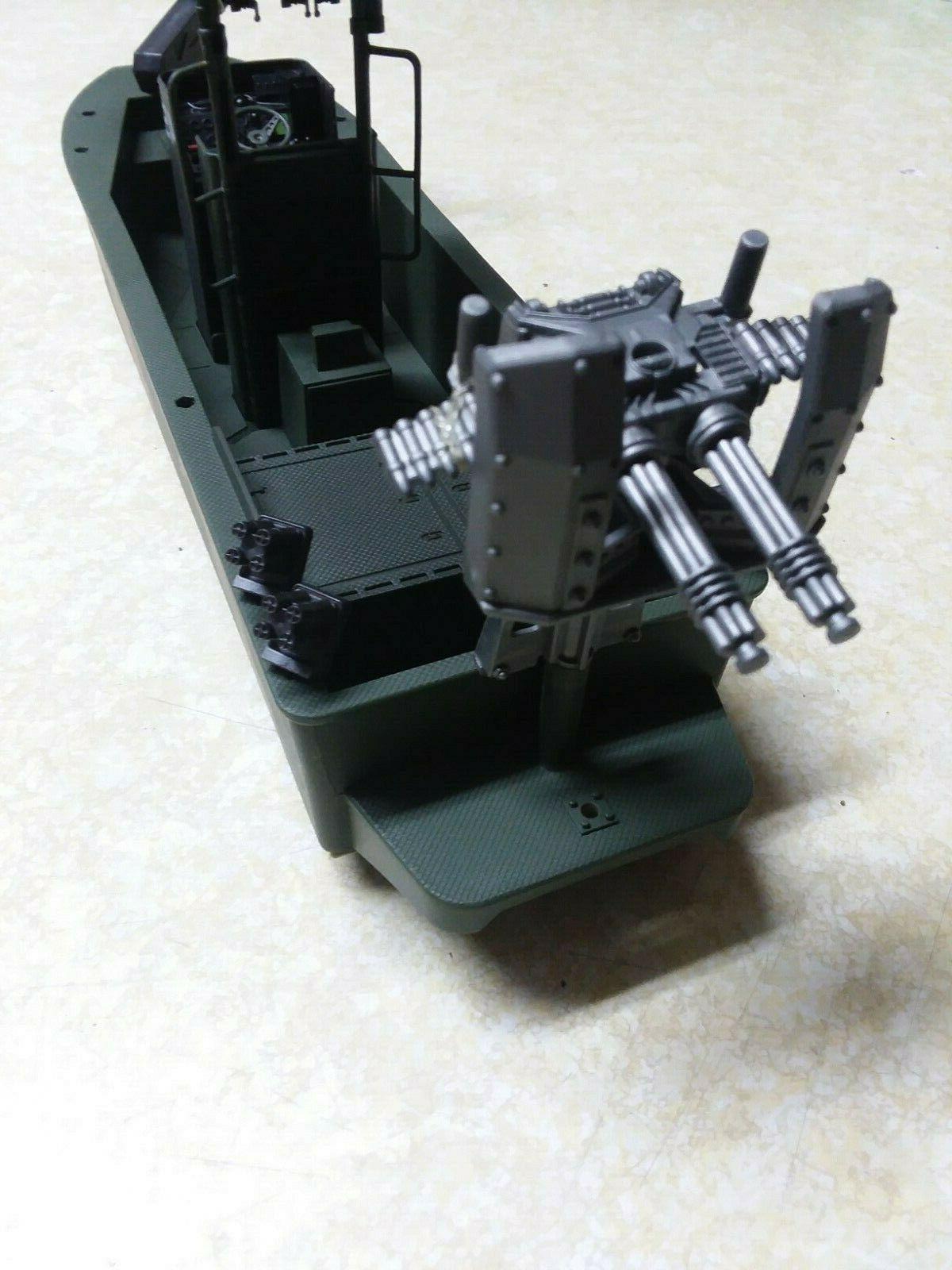 Elite Force Forces Vehicle Gun Boat Turret