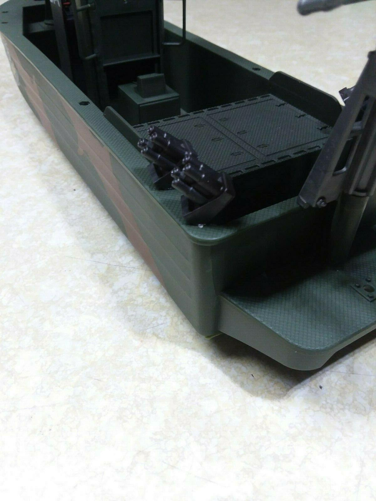 Elite Special Forces 1:18 Soldier Vehicle Boat