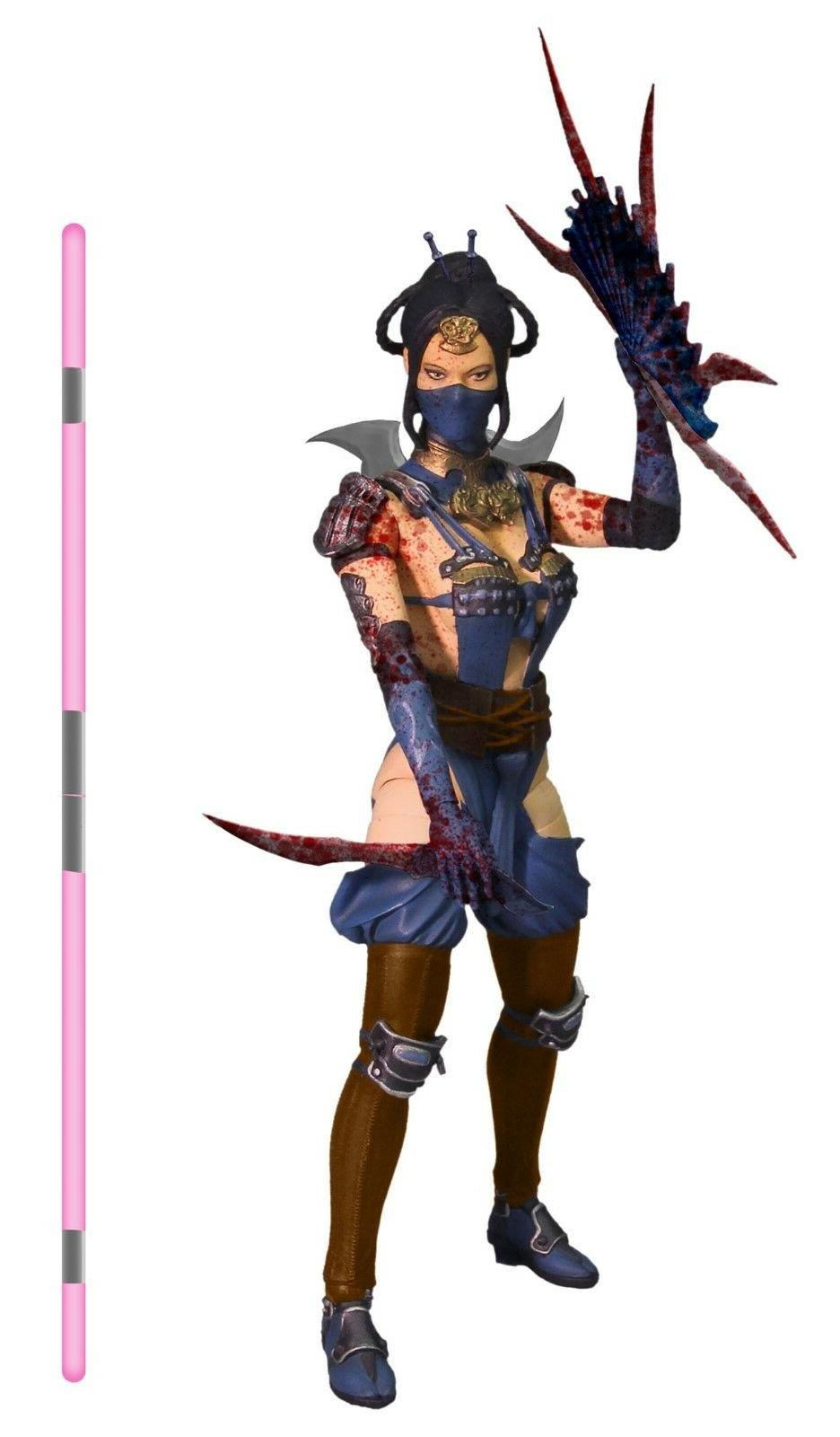 MEZCO MORTAL X KITANA MOURNFUL VARIANT inch ACTION EXCLUSIVE